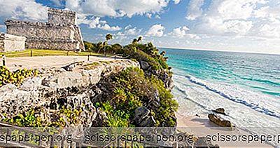 冒险 - 墨西哥景点:图卢姆