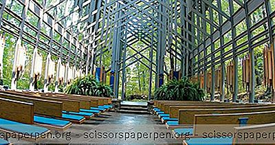 Zu Erledigende Dinge In Eureka Springs, Arkansas: Thorncrown Chapel