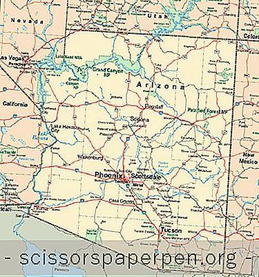 Χάρτης Της Αριζόνα