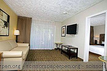米国 - 南カリフォルニア、サンディエゴ:サーファービーチホテル