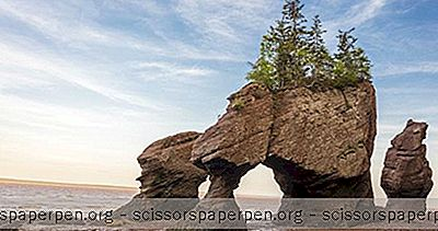 Matkakohteet - Kanada Tekemistä: Hopewell Rocks