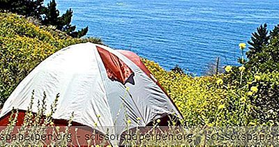 Yurt-Leirintäalueella Big Sur At Treebones