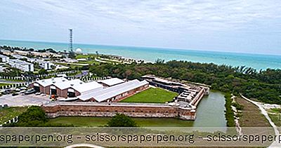 Choses À Faire À Key West, Floride: Parc D'État Historique De Fort Zachary Taylor