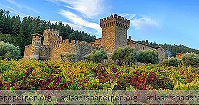 Ideeën - Wijnproeverij In Een 13Th Century Toscaans Kasteel In De Napa-Vallei