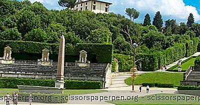 Yang Dapat Dilakukan Di Italia: Boboli Gardens In Florence