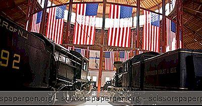 Неща За Правене В Балтимор, Мериленд: Железопътният Музей На Балтимор B&O