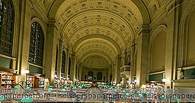 Usa - Rzeczy Do Zrobienia W Bostonie, Massachusetts: Boston Public Library