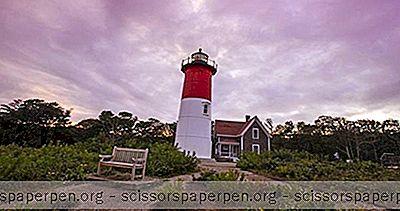 Usa - Čo Robiť V Cape Cod, Massachusetts: Maják Nauset