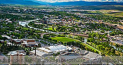 Usa - Elevation Of Missoula, Montana