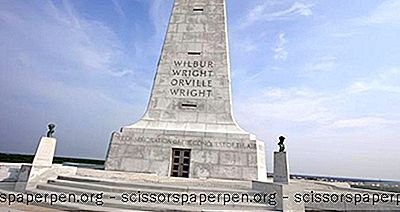 North Carolina Sehenswürdigkeiten: Wright Brothers National Memorial