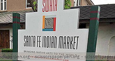 Najbolje Stvari U Santa Fe, Nm: Indijska Tržnica Santa Fe