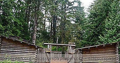 Usa - Lewis A Clark Národné A Štátne Historické Parky V Oregone A Washingtone