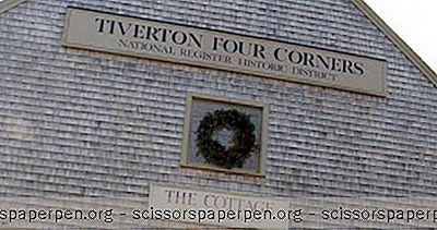 Najbolja Mjesta Za Posjetiti Na Rhode Islandu: Tiverton Four Corners
