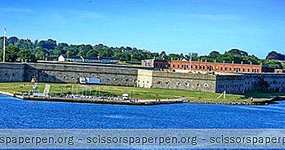 Dingen Om Te Doen In Newport, Rhode Island: Fort Adams