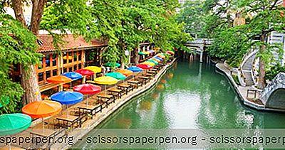 San Antonio, Texas Severdigheter: San Antonio River Walk