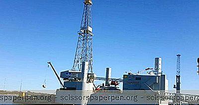 """Galvestono Mieste, Teksase: """"Ocean Star"""" Jūrinių Gręžimo Įrenginių Muziejus"""