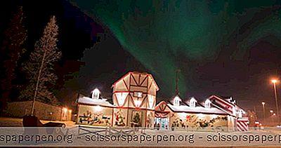Maison Père Noël, Pôle Nord, Alaska