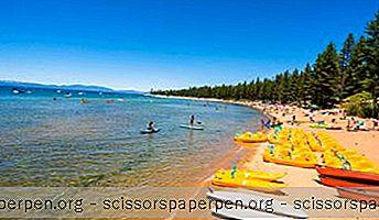 Paras Aika Käydä South Lake Tahoessa, Sää Ympäri Vuoden
