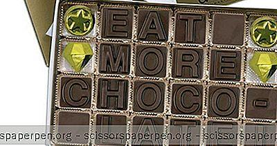 Chocolate Text - Serviço De Presentes Para Viagem