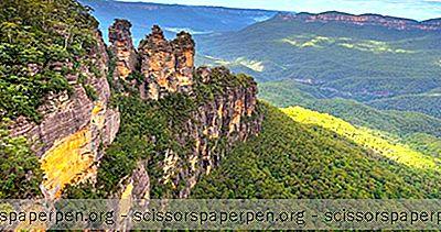 Мјеста Која Треба Посјетити У Аустралији: Плаве Планине