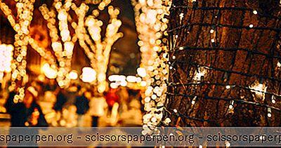 Le Festival Des Lumières De Noël Dans L'État De Washington